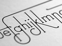 Decoracha font | Detail