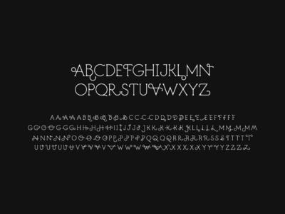 Decoracha font | Capital Letters