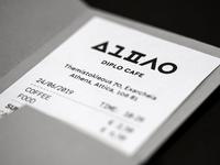 Diplo Cafe-Bar | Receipt