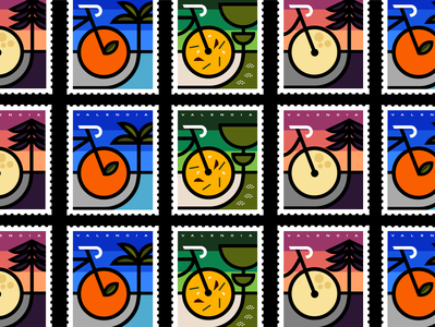 Valencia - Set of stamps