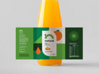 Naturel Juice Bottle