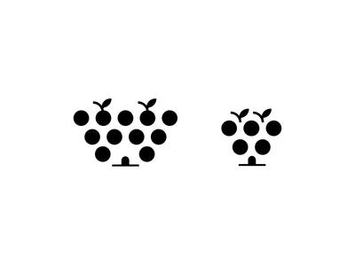 Wine house logo b&w
