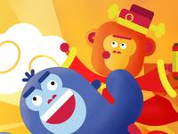 Sticky Monkey Lunar New Year