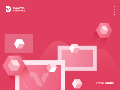 Dwarves Project website technology venture style interaction design branding design logo style guide guide brand ui design vector dwarves color illustration illustrator
