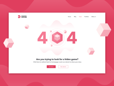 404 Not Found typography ux illustration design dwarves website ui illustrator