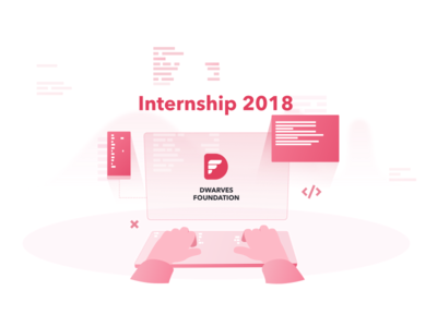 Internship 2018 branding illustrator ui cover illustration website