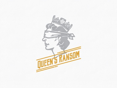 Queen's Ransom cheeky dubonnet gin united kingdom queen logo