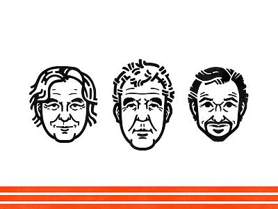 The Grand Tour  grand tour top gear james may jeremy clarkson richard hammond cars television illustration portrait