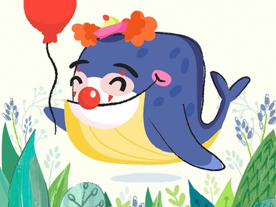 It (whale version) balloon fun whale character marushabelle