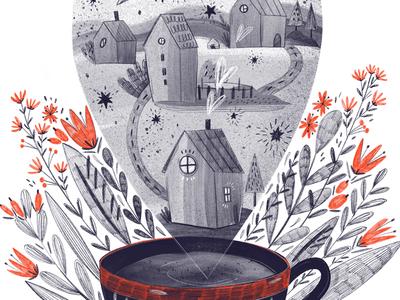Tea cozy illustrations marushabelle tea