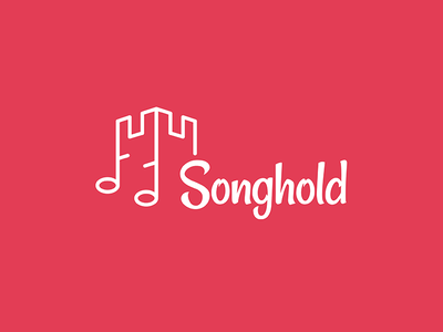 Songhold logo stronghold music castle notes song