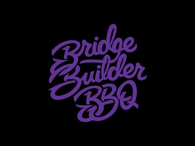 Builder Script identity shirt tee type typography branding vector graphic design apparel illustration