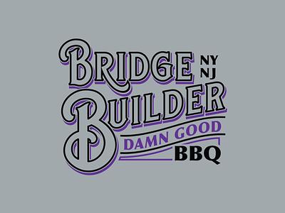 Builder Sign shirt tee typography branding vector type graphic design apparel illustration