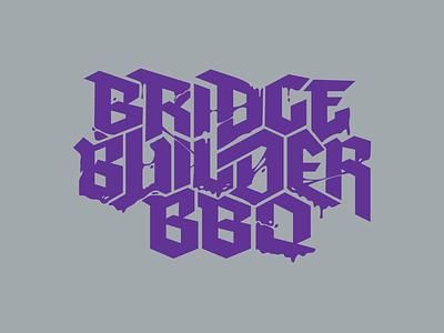Builder Melt identity shirt tee typography branding type graphic design apparel illustration