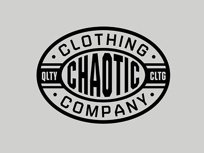 Chaotic Gear graphic design logo branding vector type apparel graphic design illustration
