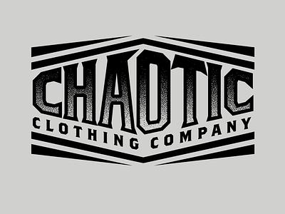 Chaotic Gear graphic design badges logo branding vector type apparel graphic design illustration