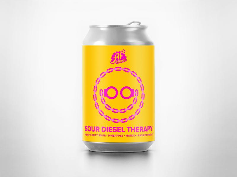 AF Brew Sour Diesel Therapy