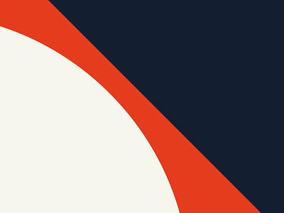 LOYALBRAND ART 01 sand blue red bauhaus swiss style illustration branding logo minimalism modernism loyalbrand modernist herman miller design