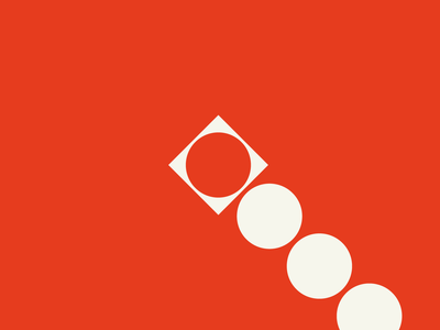 LOYALBRAND ART 02 swiss style sand red modernist modernism minimalism loyalbrand logo illustration herman miller design branding bauhaus