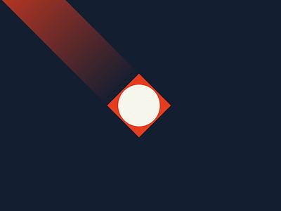 LOYALBRAND ART 03 gradient swiss style sand red modernist modernism minimalism loyalbrand logo illustration herman miller design branding blue bauhaus