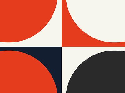 LOYALBRAND ART 04 swiss style sand red modernist modernism minimalism loyalbrand logo illustration herman miller design branding blue bauhaus