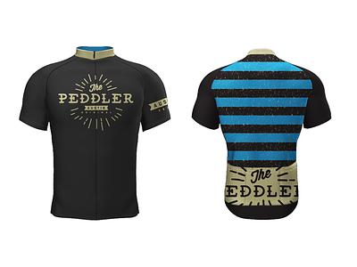The Peddler Bike Shop Jersey cycling jersey bike kit cycling kit bike shop branding