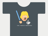 Luke Wakeup Tshirt