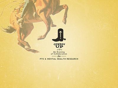 Cowboy Up Identity horse austin vintage cowboy texas austin texas western identity logo banner email branding