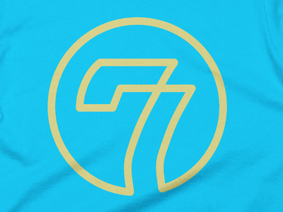 Sevens Again tshirt cotton bureau sevens seven art logo t tshirt design