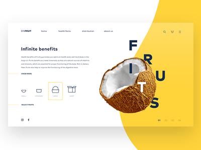 DisFruit - Fruit delivery concept