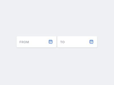 Date Picker dailyui product design text field date range app ui design sketch interaction design interaction animation motion ux design ux ui kit component input calendar date selection date picker date
