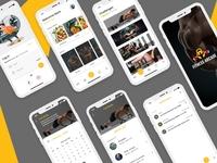 Fitness Arcade healthcare app design fitness app mobile app apps fitness