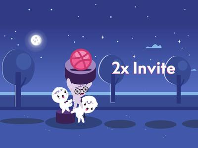 Drbbble Invite invite giveaway invite invitation dribbble invite dribbble ball dribbble 2 invites