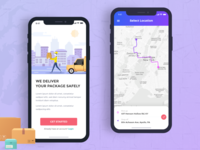 Courier Delivery App