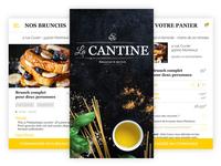 La Cantine - Food app & Branding