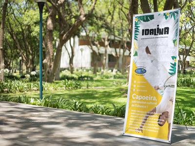 Idalina, association capoeira senzala - Xbanner design floral bresil dynamic xbanner idalina capoeira print