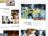Capoeira Senzala - Landing page