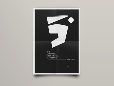5th Taratsa IFF typography illustration logo festival design blind studio blind