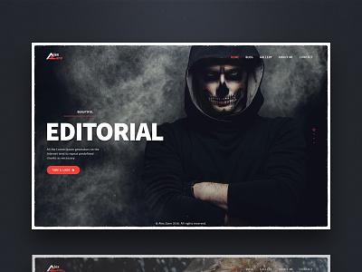 Photography Portfolio template website themeforest portfolio photography