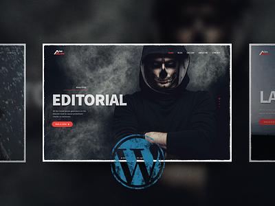Finally, we have WordPress version!!! =) website themeforest photography portfolio wordpress theme
