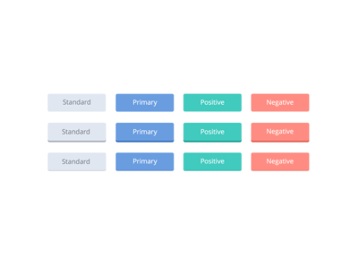 Fun with Button Colors flat color user experience ux user interface ui buttons