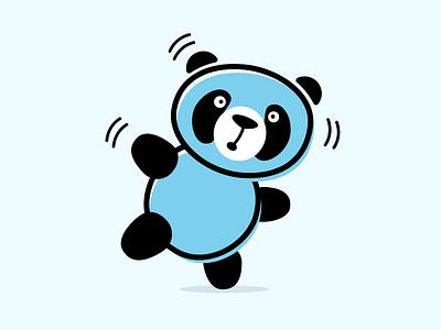 Balancing Panda balancing bear walk walking panda