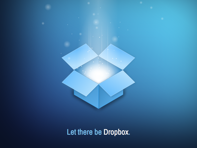 Pure CSS3 Dropbox