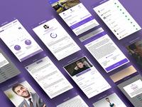 Social App User Interface