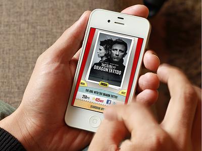 Hangman Movies application trivia movies hangman interface ios game design app