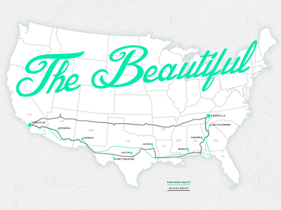 These.io Route Map explore usa road trip travel map route