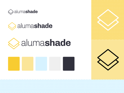 Alumashade Branding logo design color palette logo design branding logo design branding agency sun logo patio sunny bright alumashade diy branding