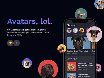 Free Download: Avatars.lol minimalistic minimal freebies freebie download profile picture profile colors colorful clean assets avatars