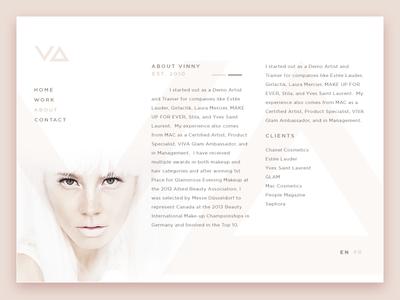 Makeup & Stylist Concept