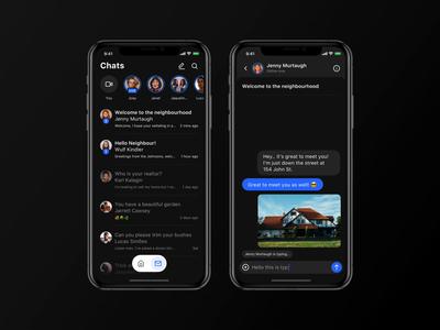 Light vs. Dark Mode Chat App